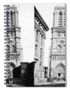 Paris Notre Dame, C1860 Spiral Notebook
