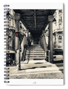 Paris - Old Man Spiral Notebook