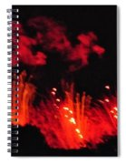 Paris On Fire Spiral Notebook