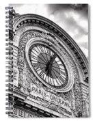 Paris Orleans Spiral Notebook
