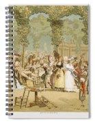 Paris Palais Royal, C1780 Spiral Notebook