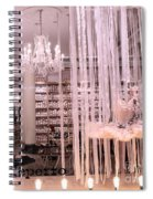 Paris Repetto Ballerina Tutu Shop - Paris Ballerina Dresses Window Display  Spiral Notebook