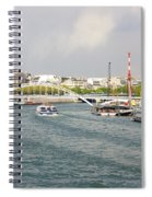 Paris River Cityscape Spiral Notebook
