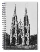 Paris Sainte Clotilde Spiral Notebook