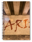Paris Spiral Notebook