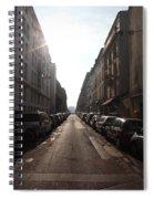 Paris Side Street Spiral Notebook