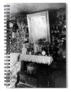 Paris Single Room, C1910 Spiral Notebook