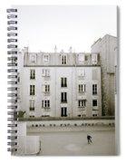 Solitude In Paris Spiral Notebook