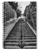 Paris Steps Spiral Notebook
