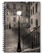 Paris Street Spiral Notebook