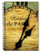 Paris Time Spiral Notebook