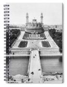 Paris Trocadero, C1900 Spiral Notebook