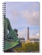 Paris View #4 Spiral Notebook
