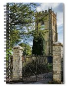 Parish Church Of St Candida And Holy Cross Spiral Notebook