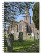 Parish Church St Martin - Jersey Spiral Notebook