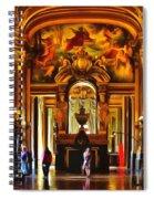 Parisian Opera House Spiral Notebook