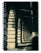 Parisian Rail Arches Spiral Notebook