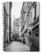 Parisian Street Spiral Notebook