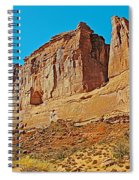 Park Avenue In Arches National Park-utah Spiral Notebook