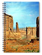 Park Avenue Sunburst Spiral Notebook