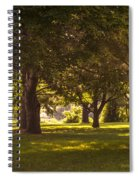 Park By The Rivers Spiral Notebook
