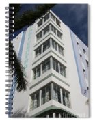 Park Central Building - Miami Spiral Notebook