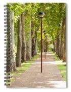 Park Footpath Spiral Notebook