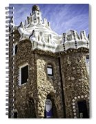 Park Guell - Barcelona - Spain Spiral Notebook