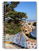 Park Guell In Barcelona Spiral Notebook