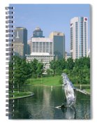 Park In The City, Petronas Twin Towers Spiral Notebook