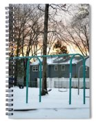 Park In Winter Spiral Notebook