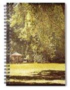 Park Shelter Filtered Spiral Notebook