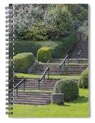 Park Stairs Spiral Notebook