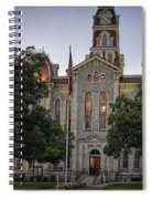 Parker County Courthouse Spiral Notebook