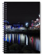 Parker's Lighthouse Reflections Spiral Notebook