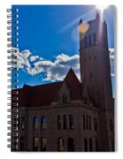 Parkersburg Courthouse Spiral Notebook