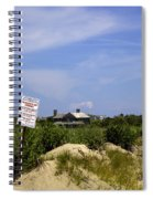 Parking By Permit - Town Of Southhampton Spiral Notebook