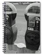 Parking Meters Spiral Notebook