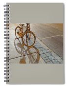Parking On The Street At Sundown Spiral Notebook