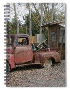 Parking Spiral Notebook