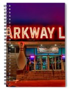 Parkway Lanes Spiral Notebook