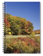 Parkway Road In North Carolina Spiral Notebook