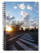 Parkway Sunset Spiral Notebook