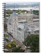 Parlament Quebec  Spiral Notebook