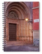 Parma Baptistery Doorway Spiral Notebook