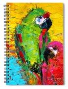 Parrot Lovers Spiral Notebook