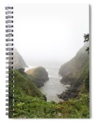 Parrot Rock In The Fog Spiral Notebook