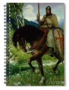 Parsifal In Quest Of The Holy Grail Spiral Notebook