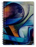 Part Of An Abstract Painting Spiral Notebook
