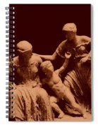 Parthenon Sculpture Spiral Notebook